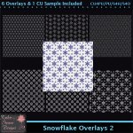 Snowflake Overlays 2 Tagger Size CU