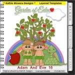 Adam And Eve Layered Templates - CU