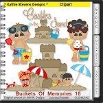 Buckets Of Memories Clipart - CU