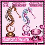 Steampunk Seahorse Script