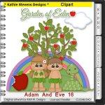 Adam And Eve Clipart - CU