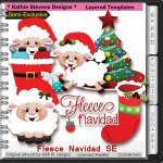 Fleece Navidad SE Layered Templates - CU