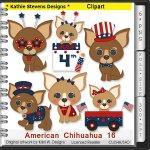 American Chihuahua Clipart - CU