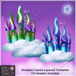 Dreamer Castle - Layered Template CU