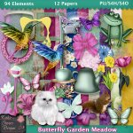 Butterfly Garden Meadow - Tagger