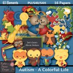 Autism - A Colorful Life TS