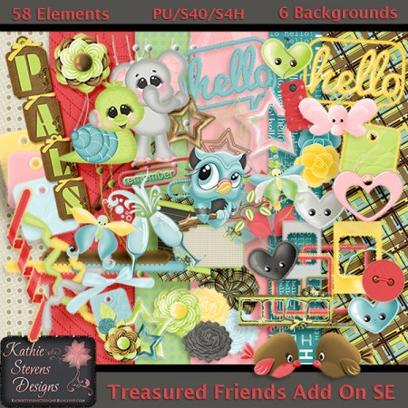 Treasured Friends Kit Add On - Store Exclusive