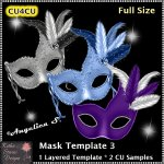 Mask Template 3 - Layered Template CU4CU