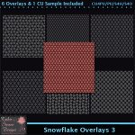 Snowflake Overlays 3 Tagger Size CU