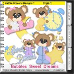 Bubbles Sweet Dreams Clipart - CU