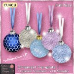 Ornament Template 1 - CU4CU