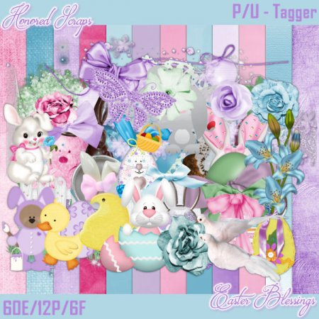Easter Blessings - Tagger