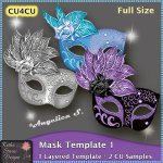 Mask Template 1 - Layered Template CU4CU