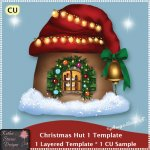 Christmas Hut 1 - Layered Template CU