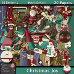 Christmas Joy Tagger Size